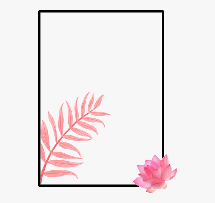 Floral Frame, HD Png Download, Free Download