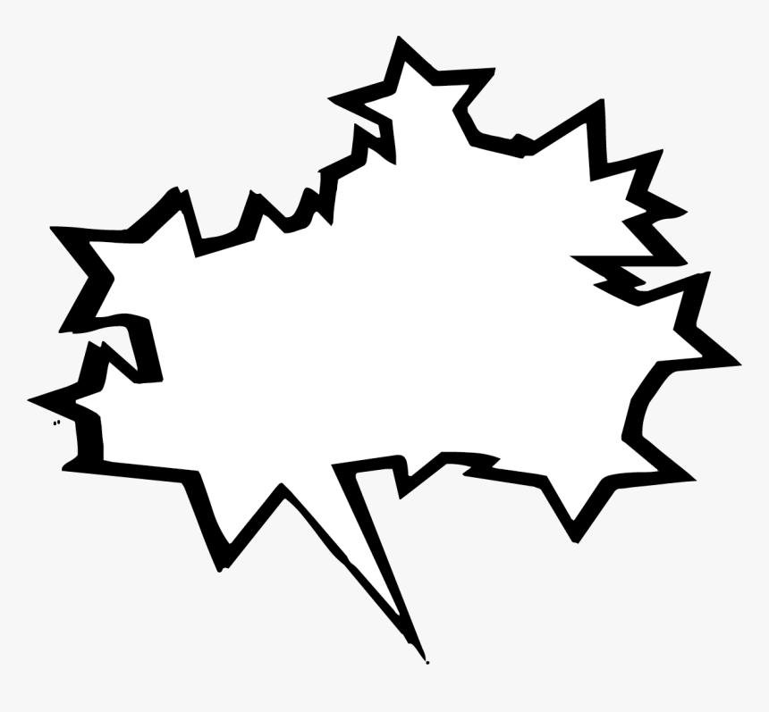 Comic Book Action Bubbles Png - Comic Book Speech Bubble Png, Transparent Png, Free Download