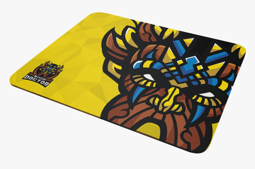 Witch Doctor Gaming Mousepad - Motif, HD Png Download, Free Download