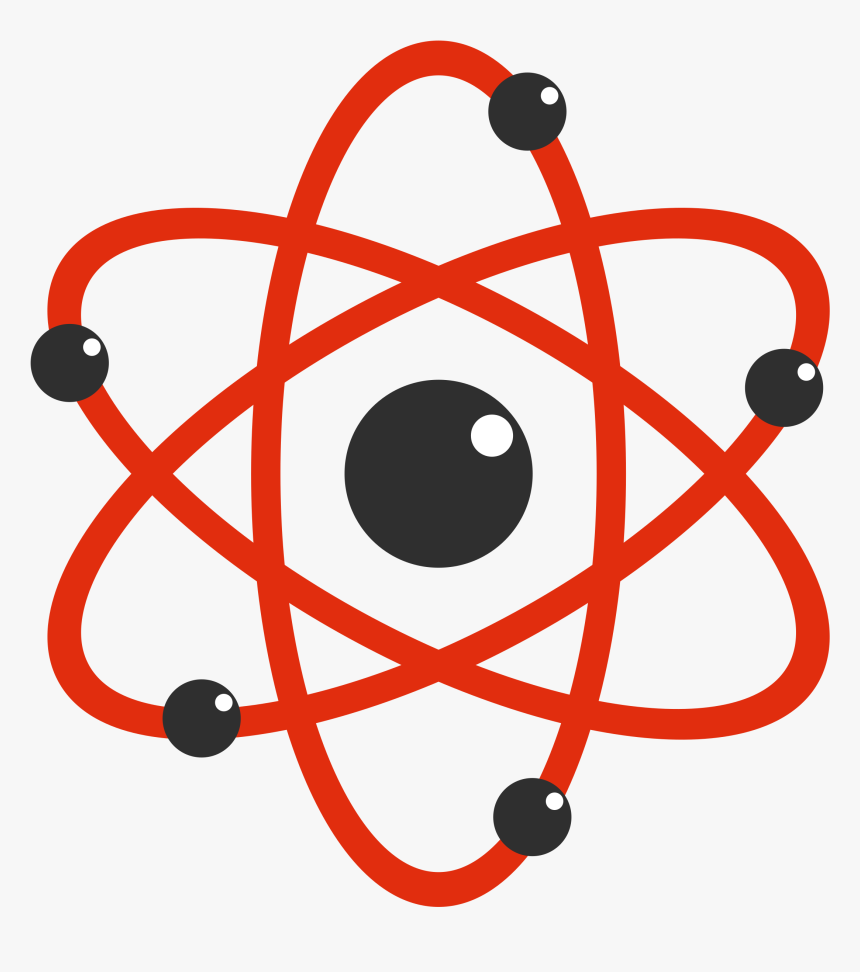 Atom Clipart Electron - Electron Clipart, HD Png Download, Free Download