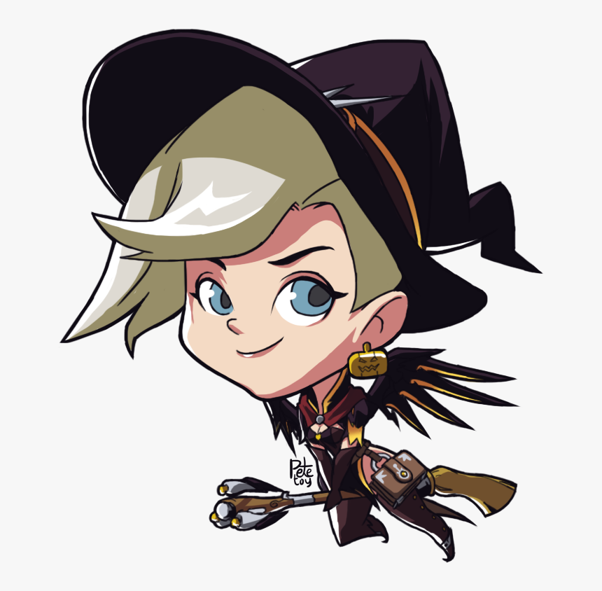 Overwatch Mercy Cute Spray, HD Png Download, Free Download