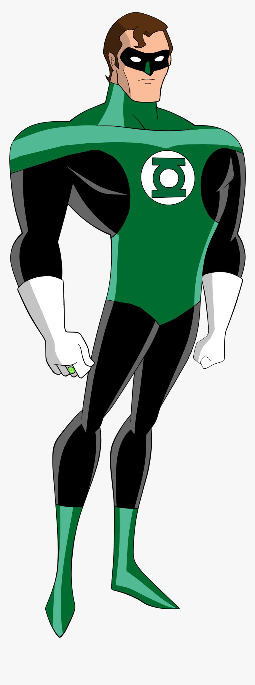 Justice League Tas Green Lantern, HD Png Download, Free Download
