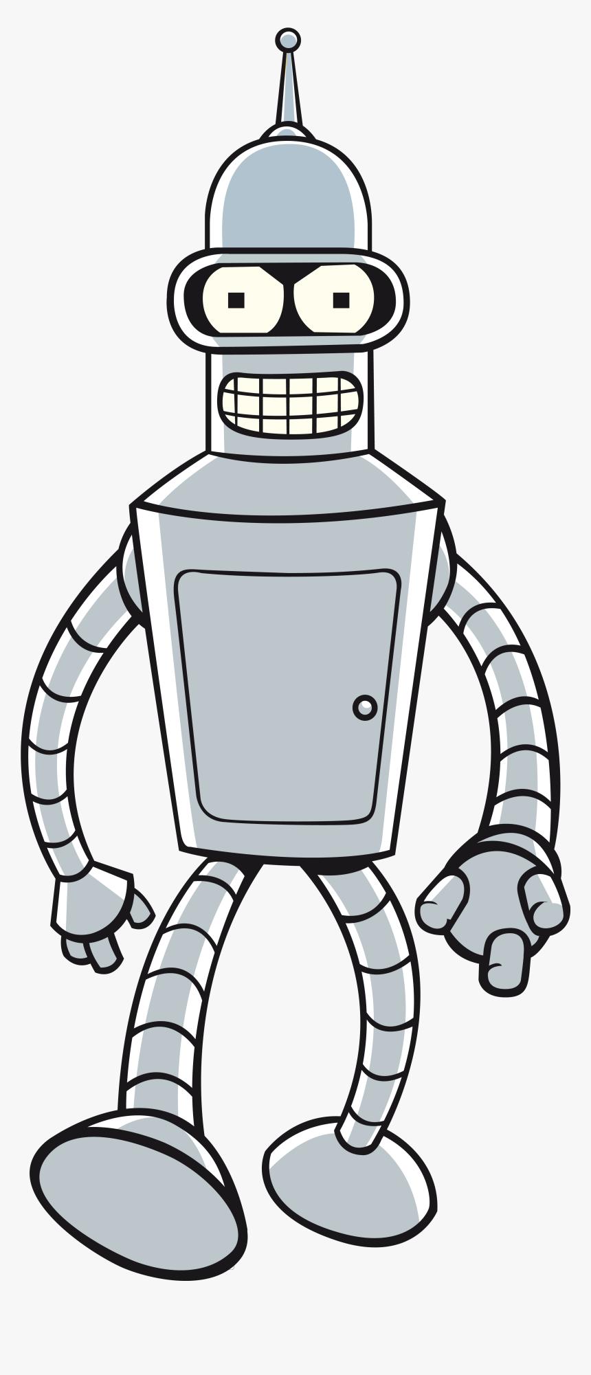 Futurama Bender Png Image - Bender Futurama, Transparent Png, Free Download