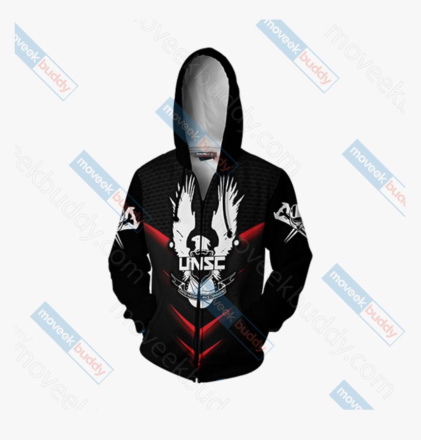 Master Chief Unisex Zip Up Hoodie Jacket - Jojo Killer Queen Hoodie, HD Png Download, Free Download