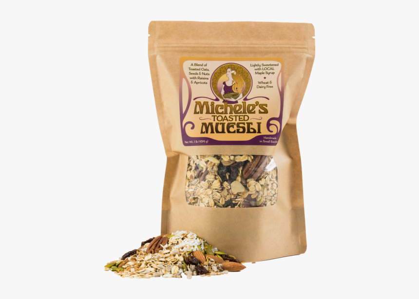 Toasted Muesli - Michele's Granola Toasted Muesli, HD Png Download, Free Download