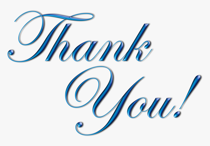 Thank You Png Transparent Thank You Page For Ppt Png Download