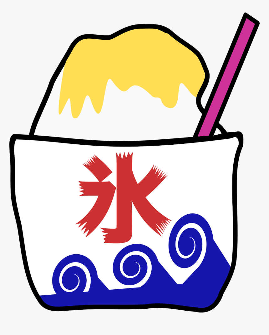 Japanese Shaved Ice Clipart, HD Png Download, Free Download