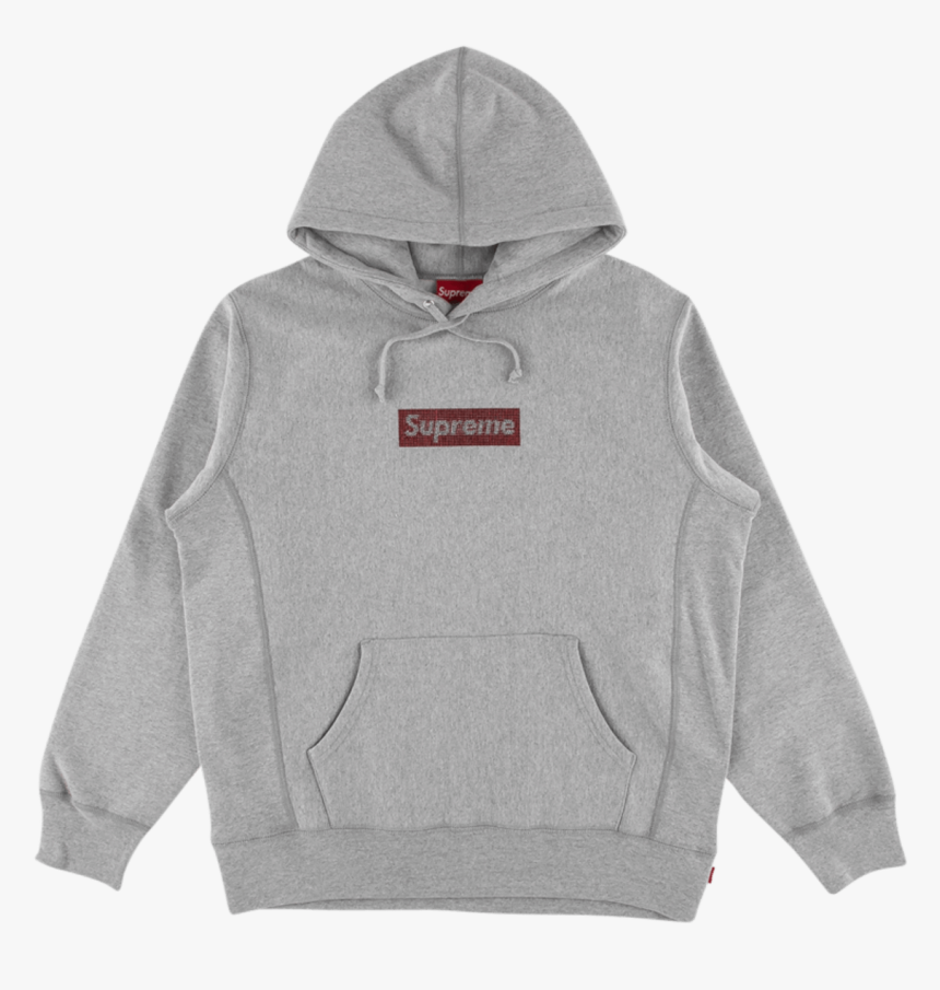 "Supreme Swarovski Box Logo Hoodie ""ss, HD Png Download, Free Download"