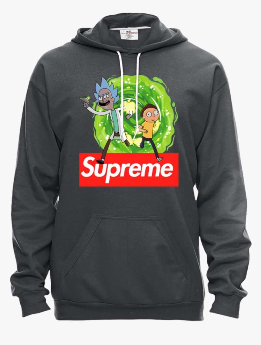 Transparent Supreme Hoodie Png - Supreme Rick And Morty Hoodie, Png Download, Free Download
