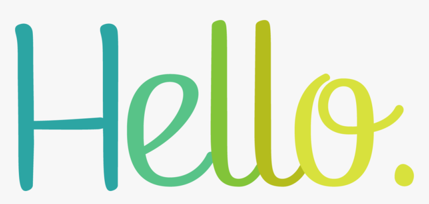 Transparent Hello My Name Is Clipart - Hello Png, Png Download - kindpng