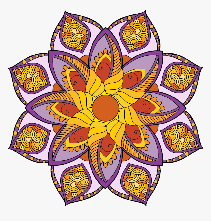 Mandala Coloring Pages - Coloring Book, HD Png Download, Free Download