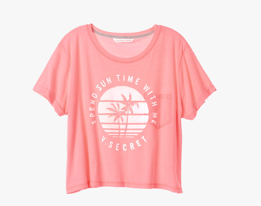 Victoria Secret Png - Active Shirt, Transparent Png, Free Download