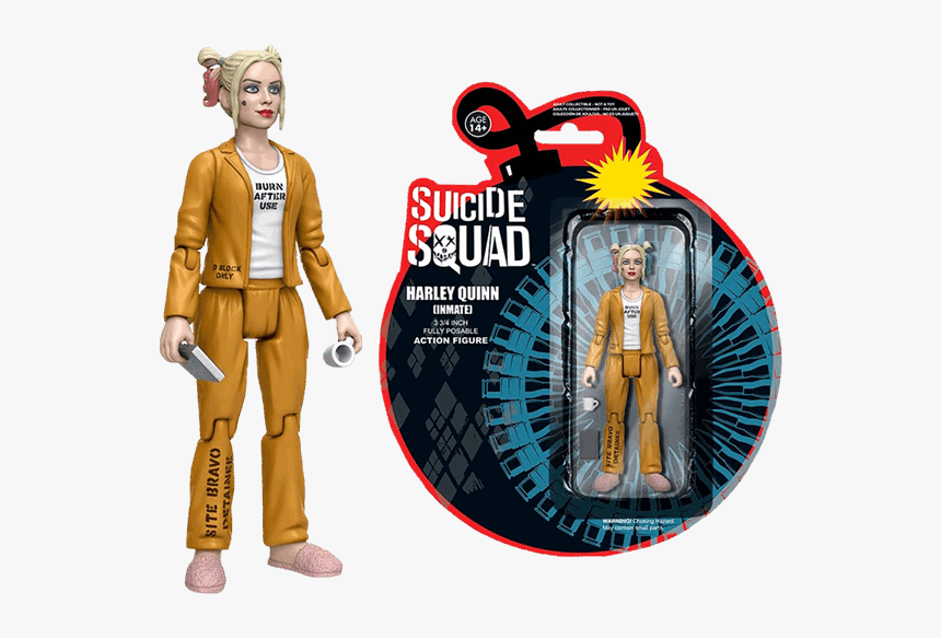 Action Figure Suicide Squad, HD Png Download, Free Download