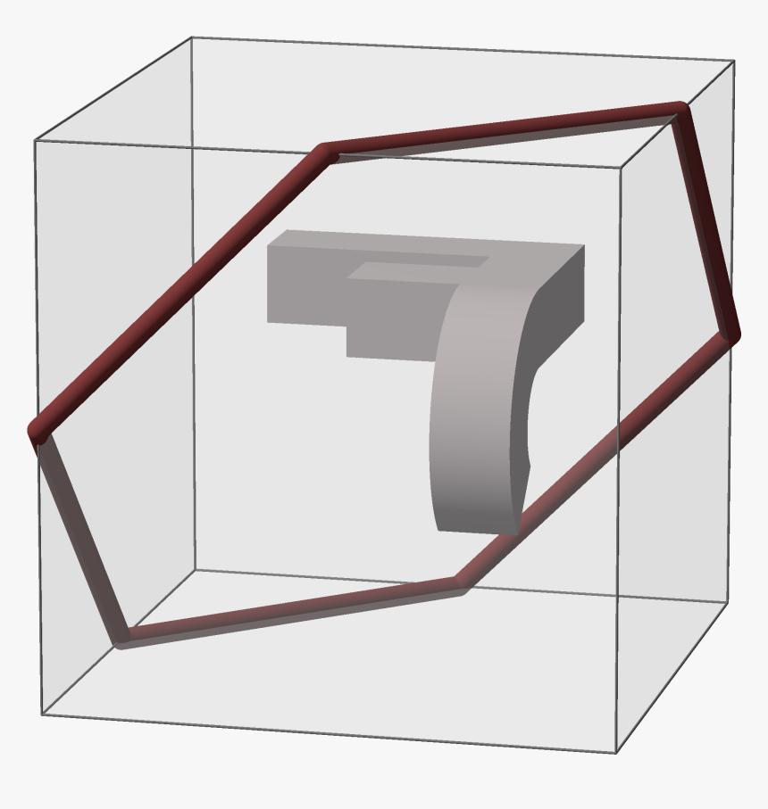 Cube Permutation 1 - Computer Desk, HD Png Download, Free Download