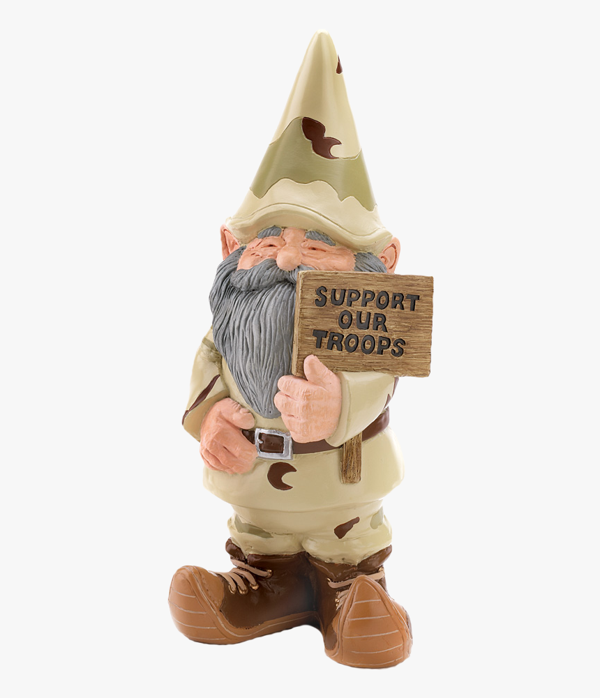 Support Our Troops Gnome, HD Png Download, Free Download