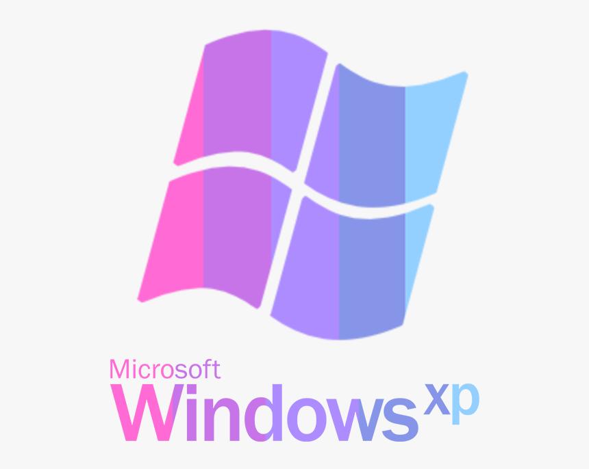 Vaporwave Windows Xp Logo Png, Transparent Png, Free Download