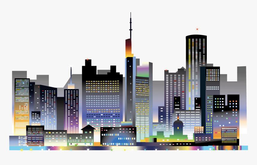 Transparent Bright Lights Png - Night City Lights Png, Png Download, Free Download