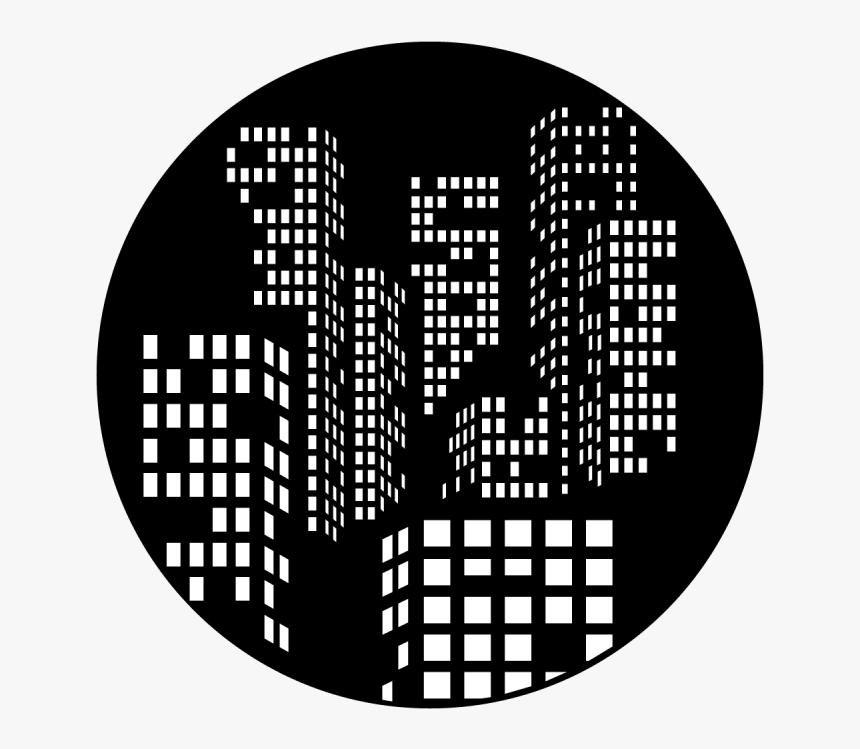 City Night Lights - Circle, HD Png Download, Free Download
