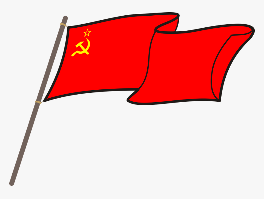 Ussr, Cccp, Flag, Graphics, National Colors, The Mast, HD Png Download, Free Download