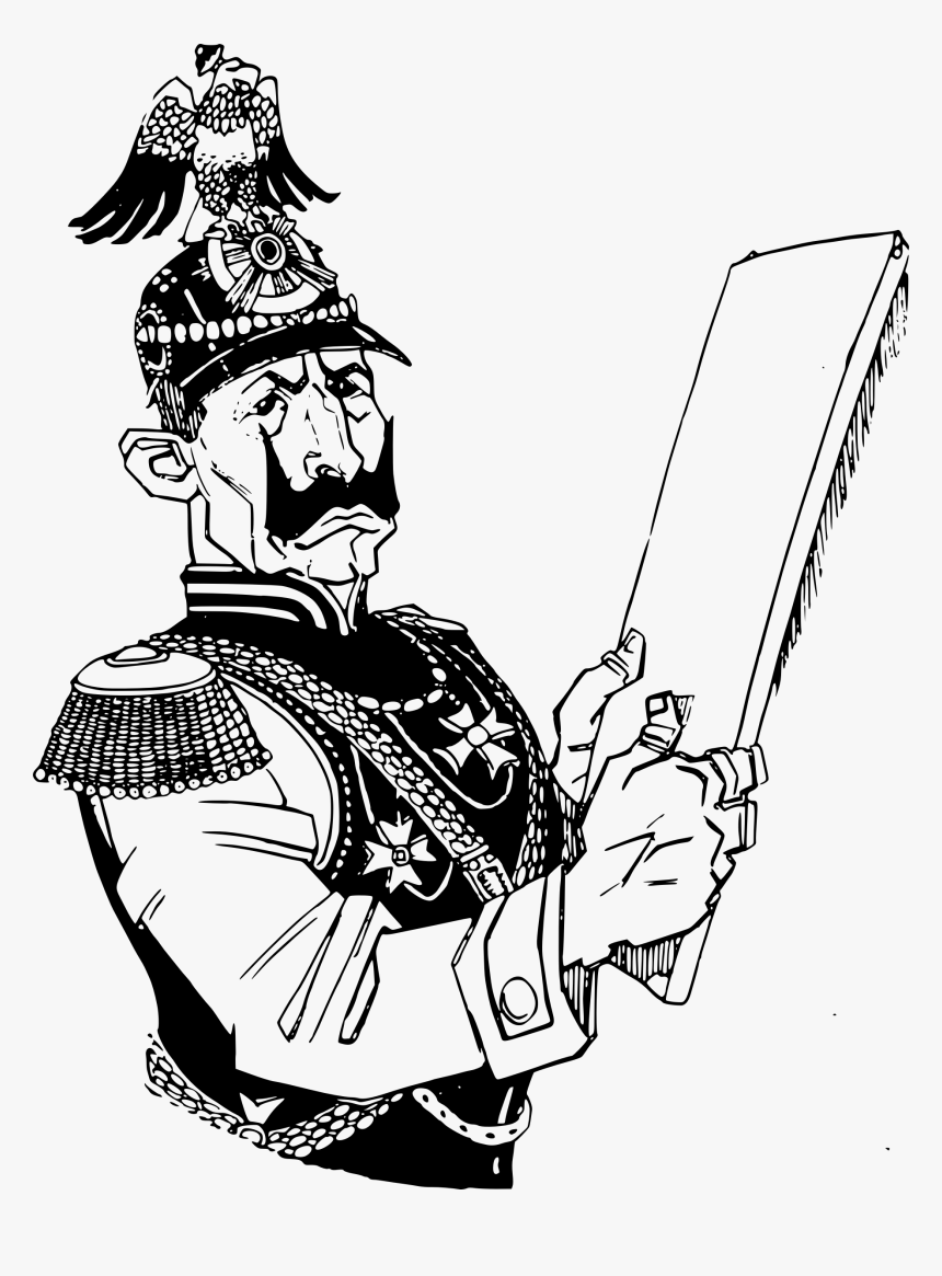 Civil War Soldier Drawing, HD Png Download, Free Download