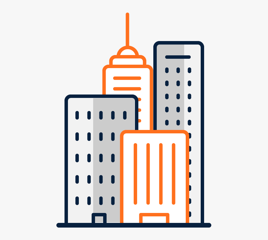 Icon Of High Rise Buildings, HD Png Download, Free Download