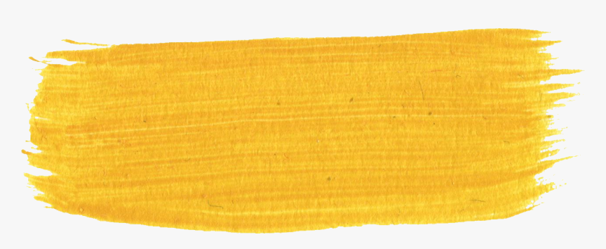 Yellow Brush Stroke Transparent Png, Png Download, Free Download