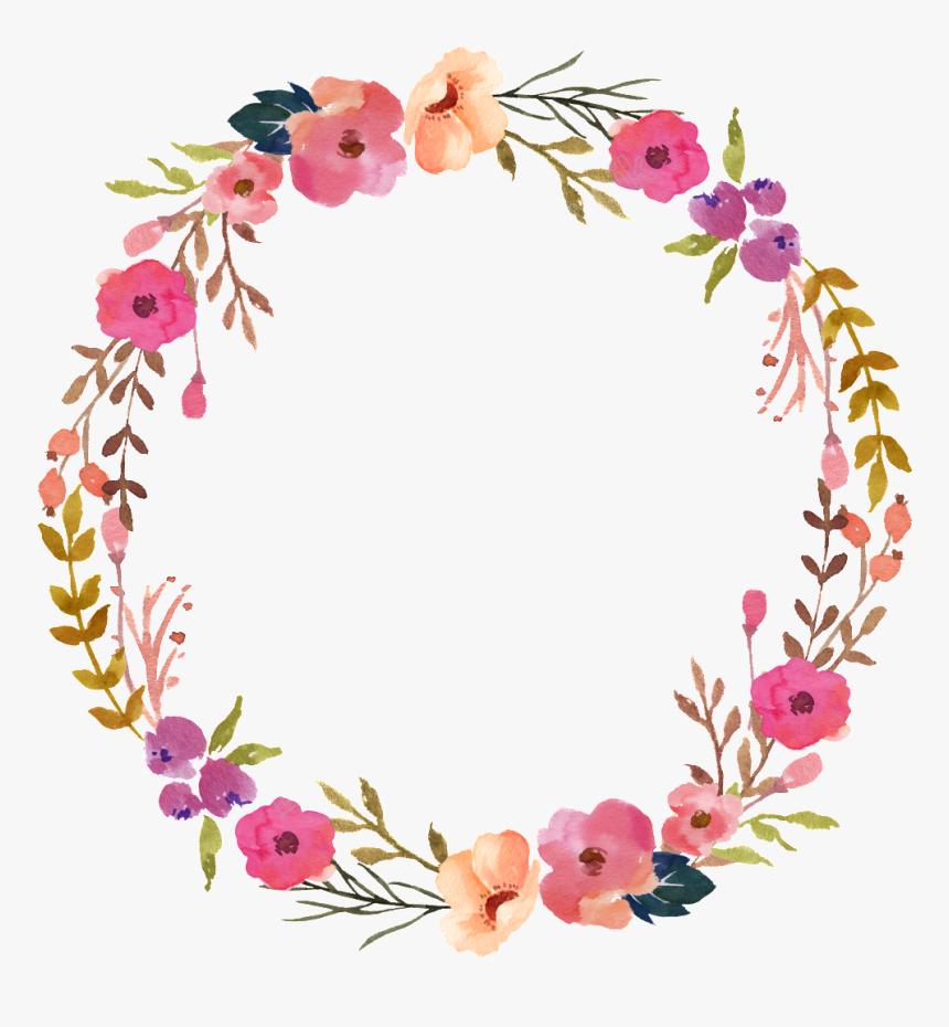 Transparent Transparent Background Flower Circle Png, Png Download, Free Download