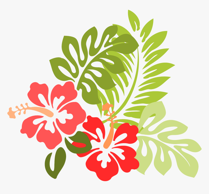Hibiscus Clipart Real - Flower Beach Png, Transparent Png, Free Download