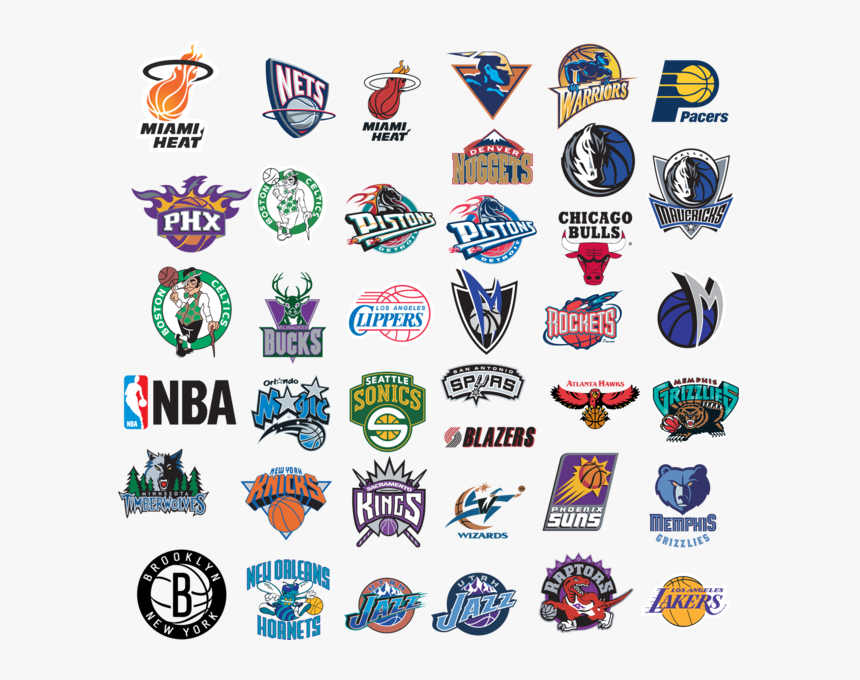 All Nba Teams Png, Transparent Png, Free Download