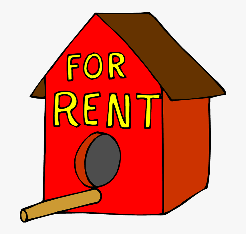 After Personnel Costs, Office Space Is Usually A Law - Bird House For Rent, HD Png Download, Free Download