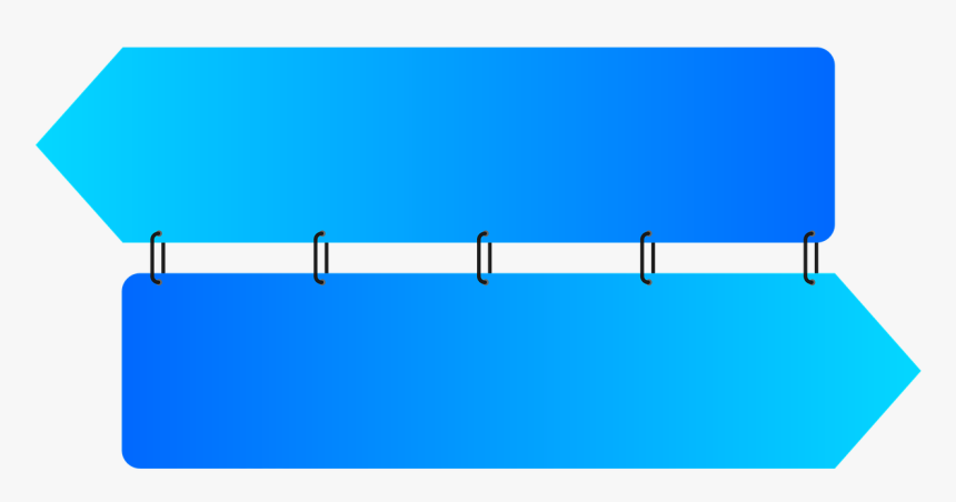 Png Banner Arrow Tape, Transparent Png, Free Download
