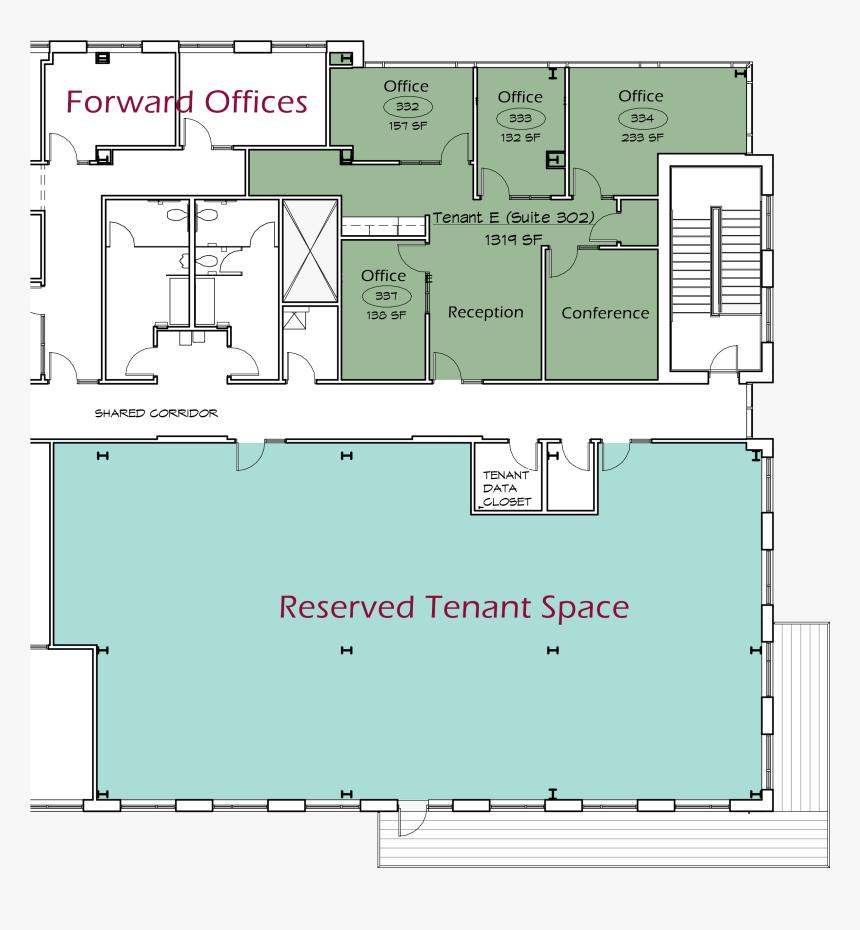 Https - //www - Forward - Bank/wp Floor Rentable Space2 - Denah Tanah Lot, HD Png Download, Free Download