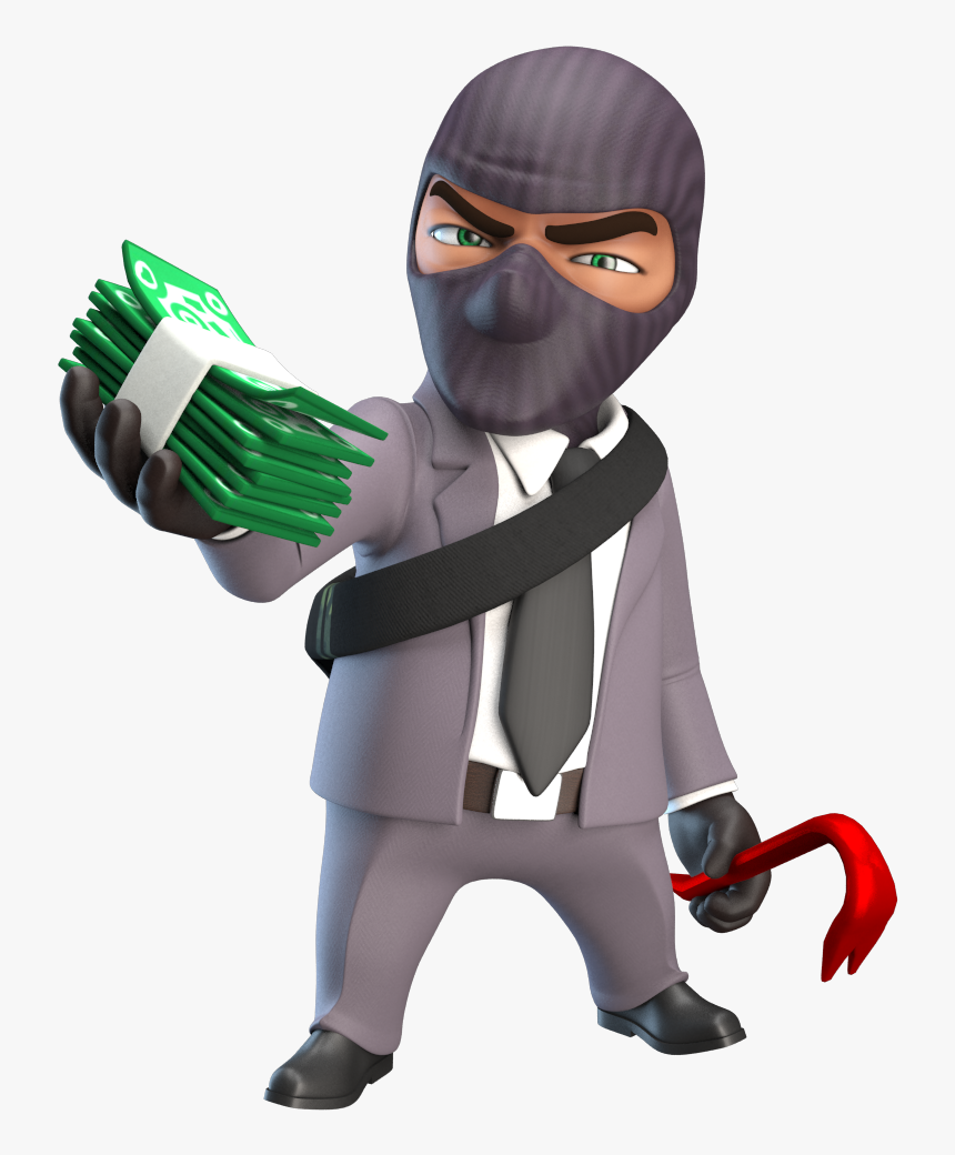 Thief, Robber Png - Sniper Vs Thieves Png, Transparent Png, Free Download