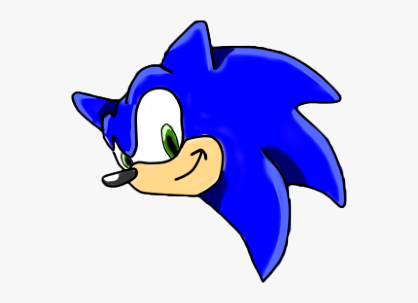Sonic The Hedgehog Head Www Sonic Head Png Transparent Png