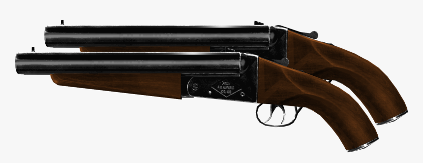 Crossfire Wiki - Dual Double Barrel Shotgun, HD Png Download, Free Download