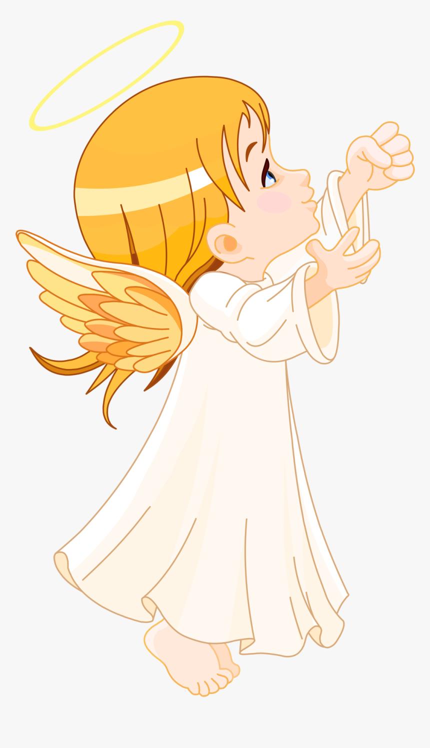 Clipart Angel Transparent Background Baby Angel Png Free Download Png Download Kindpng