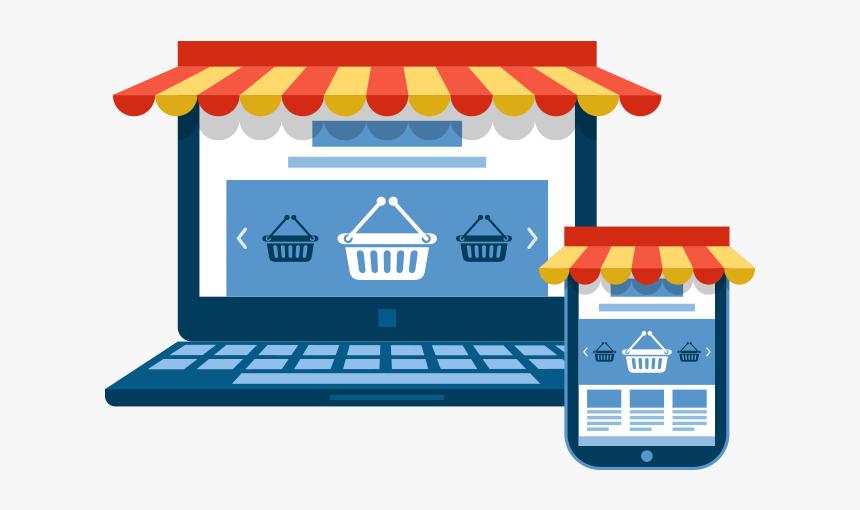 Png Online Store - E Commerce Marketing Png, Transparent Png - kindpng