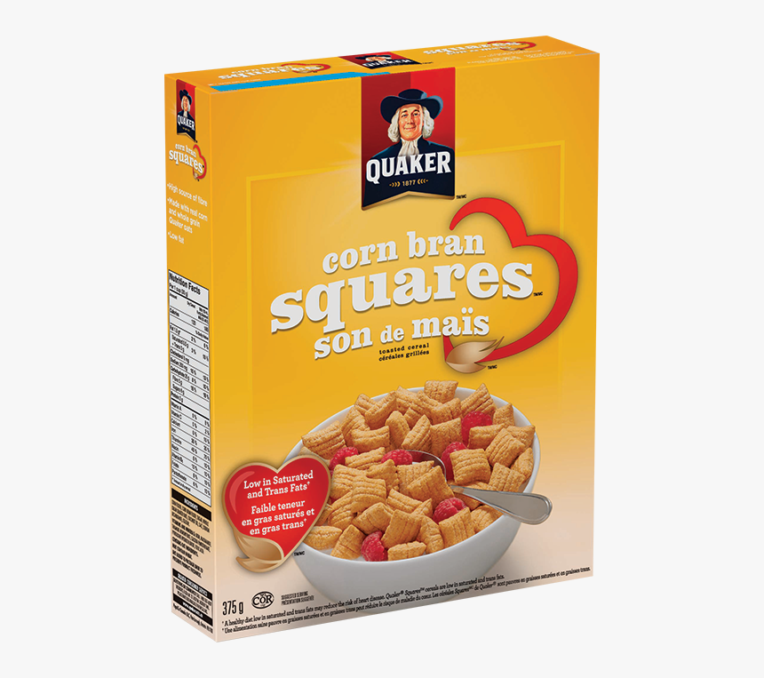 Transparent Cereal Quaker Square - Corn Cereal, HD Png Download, Free Download