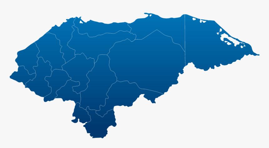 Capital City Of Honduras Map, HD Png Download, Free Download