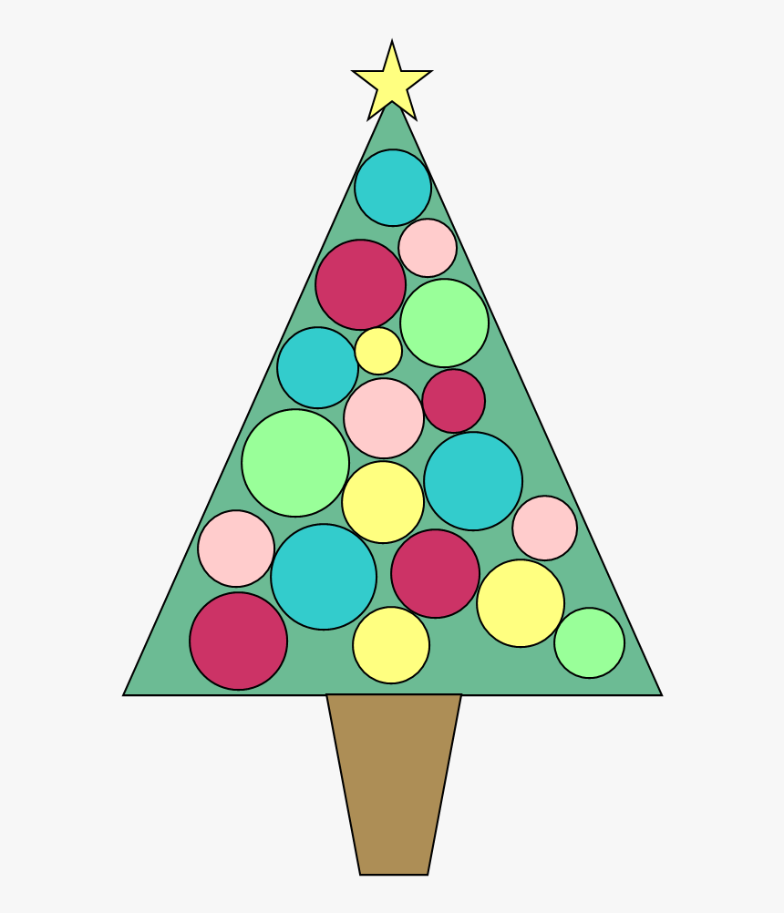 Christmas Ornaments Clip Library Stock Free Huge Freebie - Free Clip Art Christmas Tree, HD Png Download, Free Download