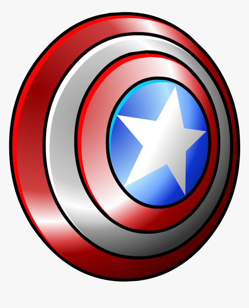 Captain America Shield - Captain America Shield Clipart Png, Transparent Png, Free Download