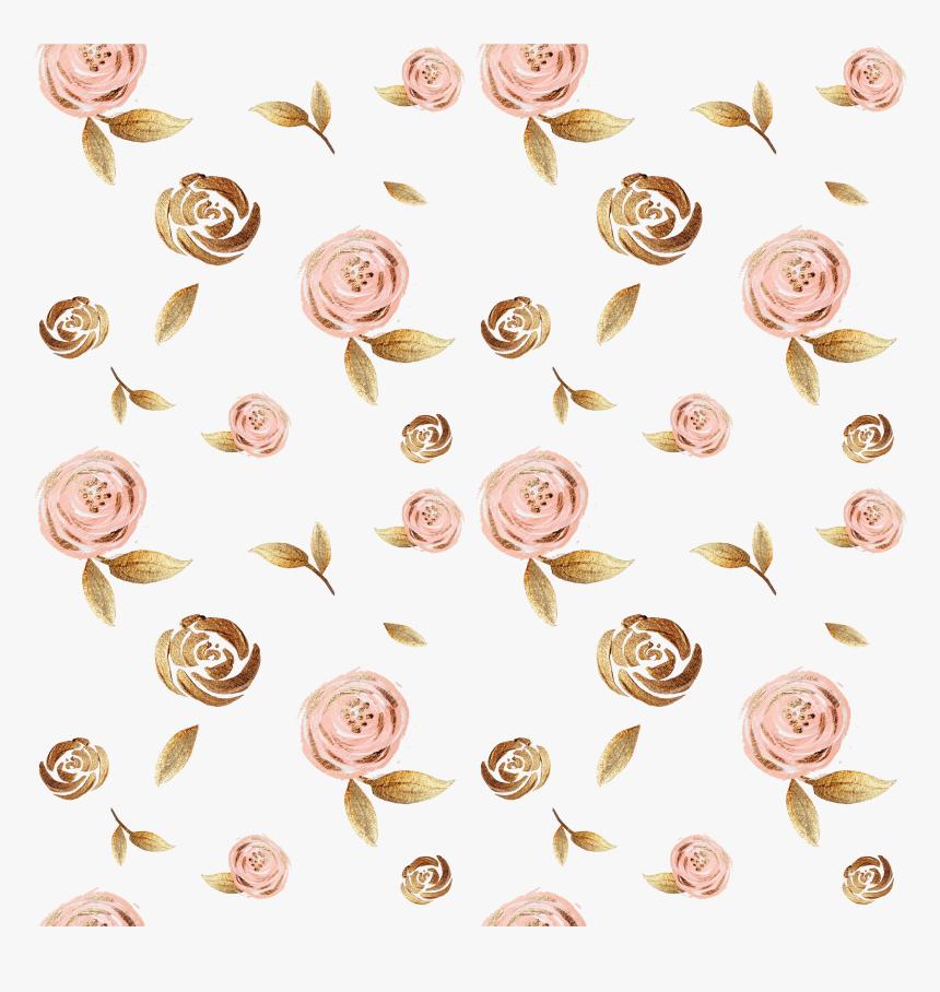 Gold Leaf Background Rose Gold Flowers Background Hd Png Download Kindpng