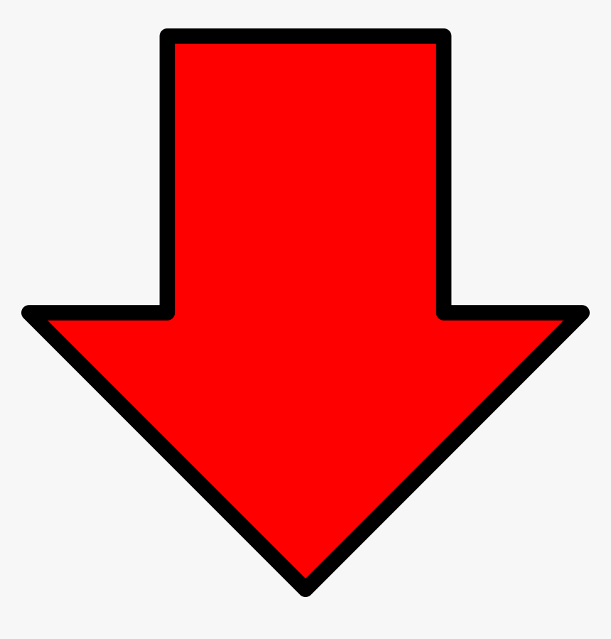 Red Right Arrow Png Images Pictures - Red Arrow Down Png, Transparent Png -  kindpng