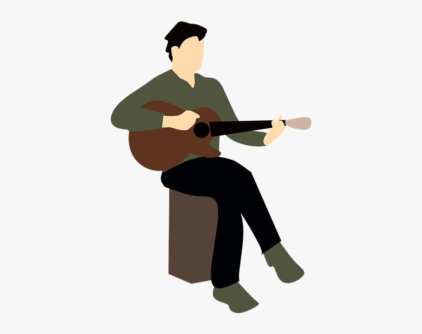 Musical Music Guitar - Clipart Musician, HD Png Download, Free Download