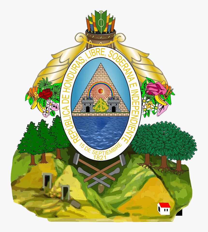 Honduran Coat Of Arms, HD Png Download, Free Download