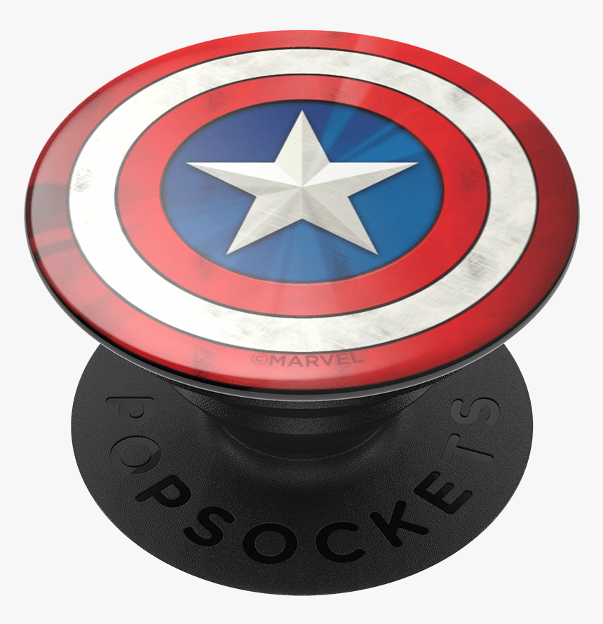 Captain America Popsocket, HD Png Download, Free Download