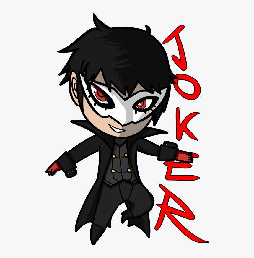 Transparent Joker Png - Persona 5 Chibi Transparent, Png Download, Free Download