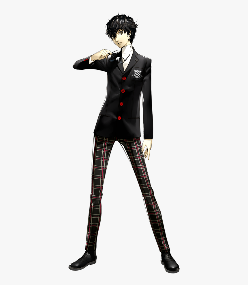 Normal - Joker Persona 5 School Uniform, HD Png Download, Free Download