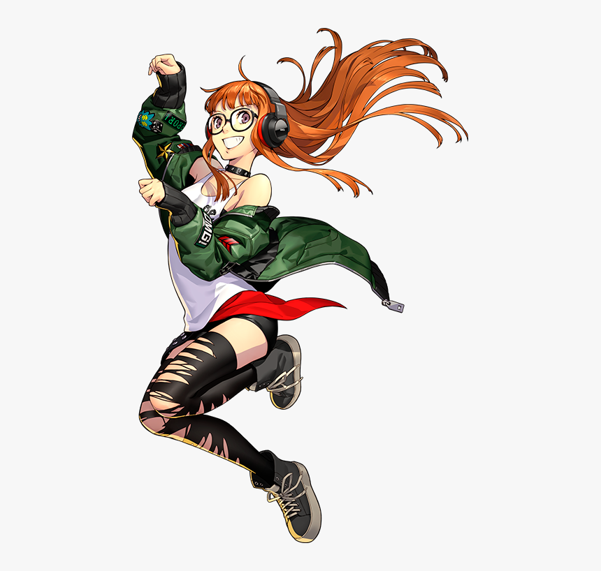 Transparent Persona 5 Mask Png - Persona 5 Dancing Star Night Futaba, Png Download, Free Download