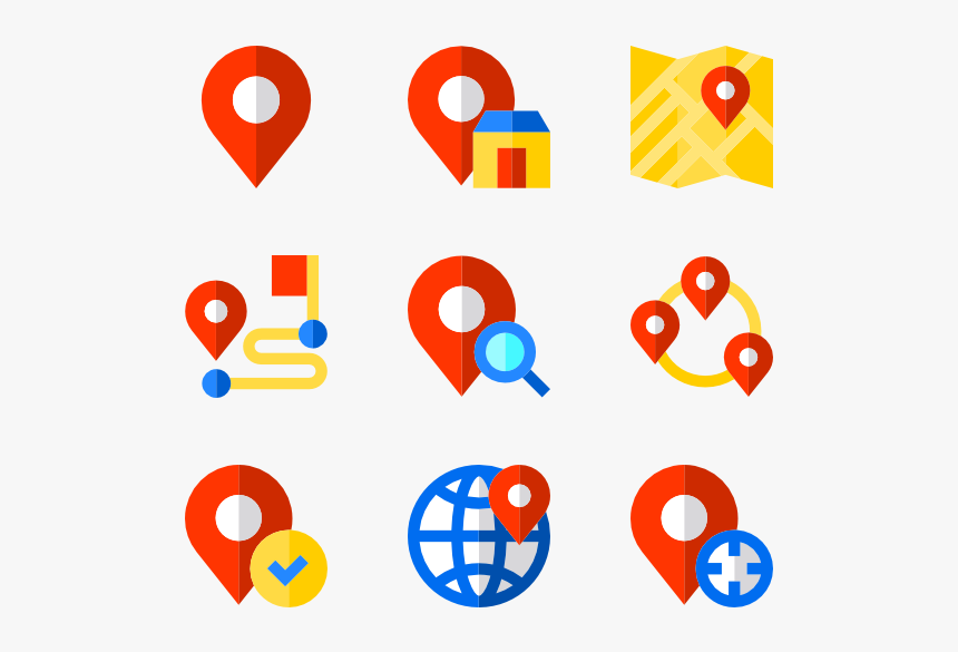 Share Location Icon Png, Transparent Png, Free Download